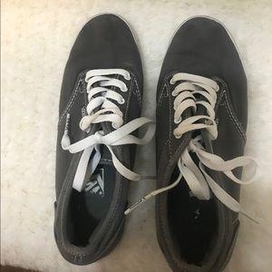 Ladies Vans sneakers gray sz 6.5
